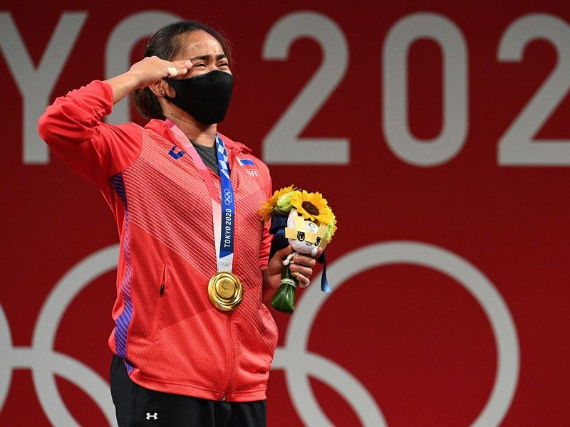 Hidilyn Diaz finally captures elusive Olympic gold for Philippines