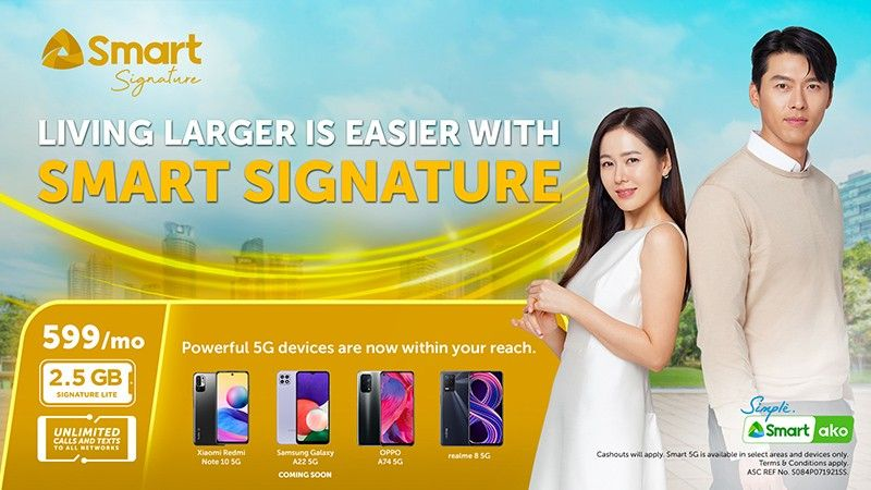 Connect to the country�s fastest network with new Signature Plan Lite at only P599 per month