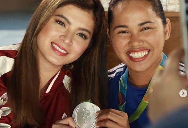 Celebrities cheer Olympic win as Hidilyn Diaz takes gold