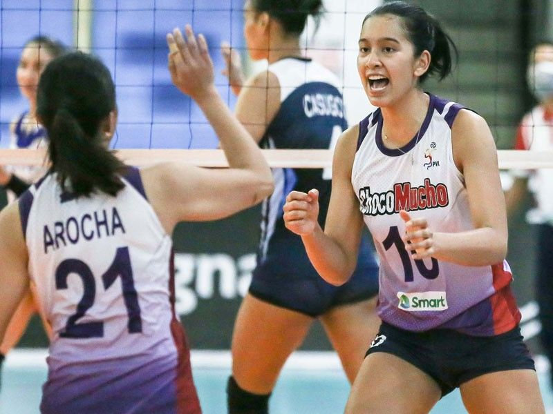 Tolentino stars as Choco Mucho escapes Bali Pure for joint first