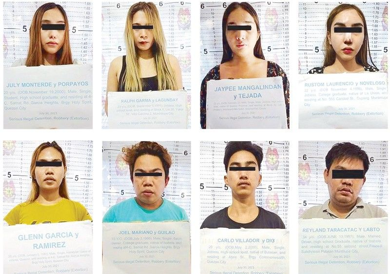 8 nabbed for kidnapping Chinese