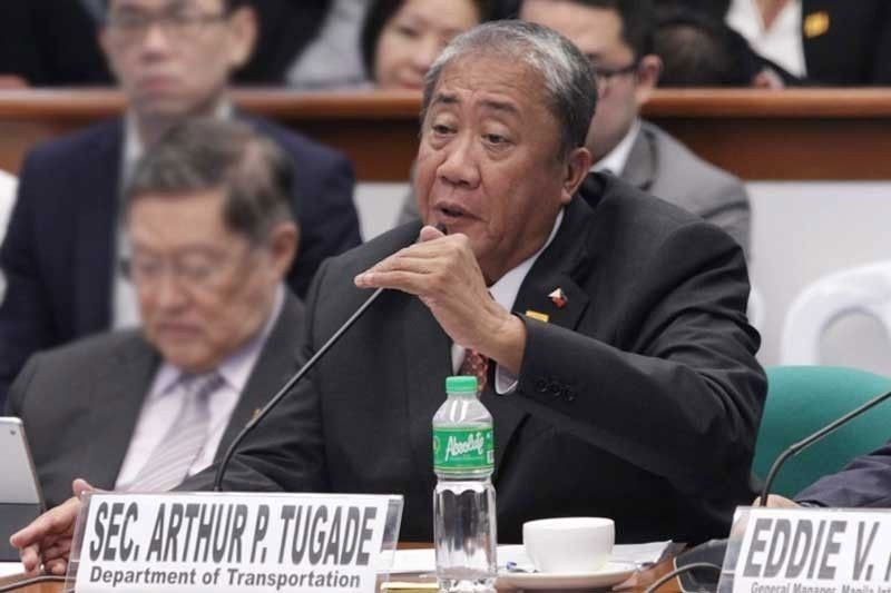 Tugade launches vaccination program for transport workers