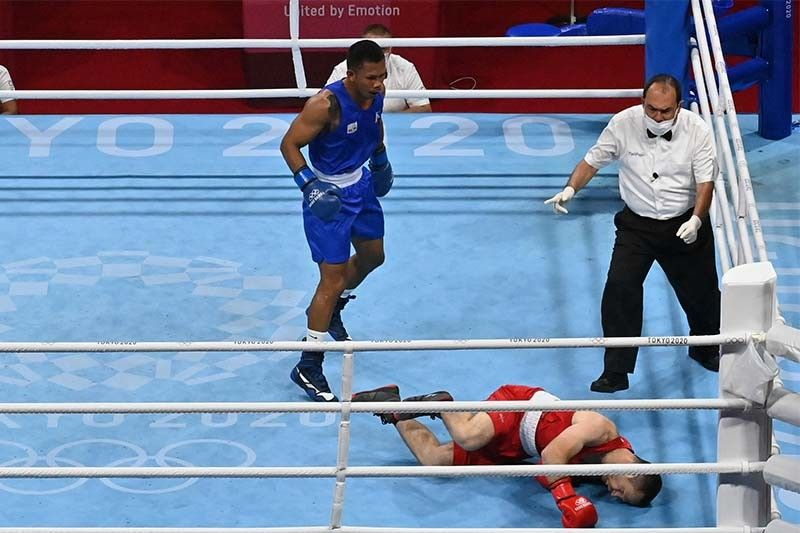 Marvelous Marcial knocks out Armenian foe in first round for sure Olympic medal