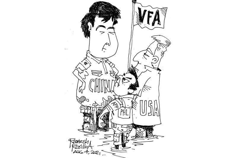 EDITORYAL - Ang VFA ug si Duterte