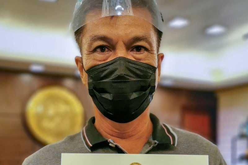 New Caubian barangay captain assumes post