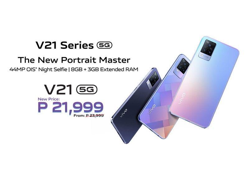 vivo drops price of V21 series so more can level up their social media content - Philstar.com