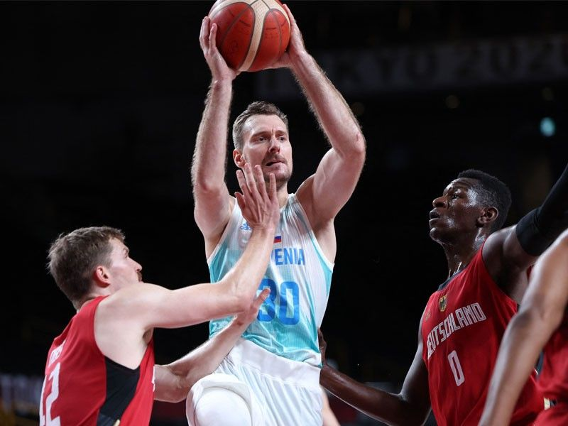 Slovenia crushes Germany to reach Olympic basketball semis