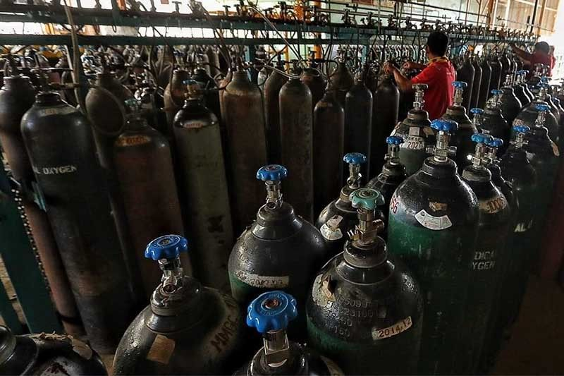 NBI to help PNP, DTI probe into possible hoarding of oxygen tanks, medical supplies