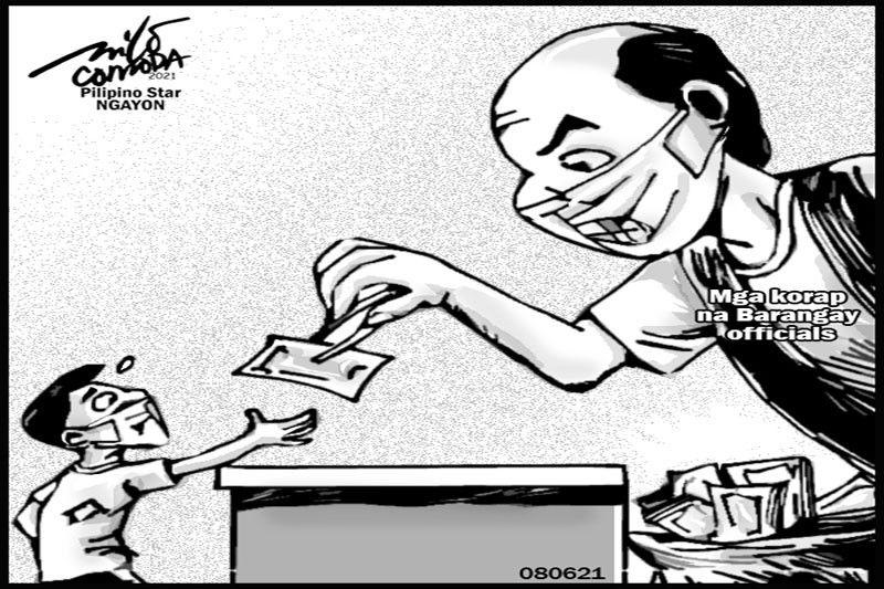EDITORYAL -  Ingatang makorap ang ibibigay na ayuda