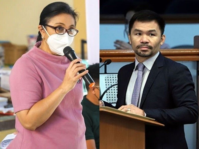 Robredo in talks with Pacquiao for 2022 elections