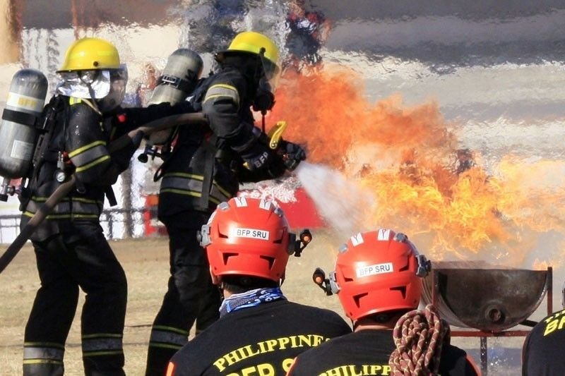 DILG: Select firefighters to be armed for crowd control, self-defense only