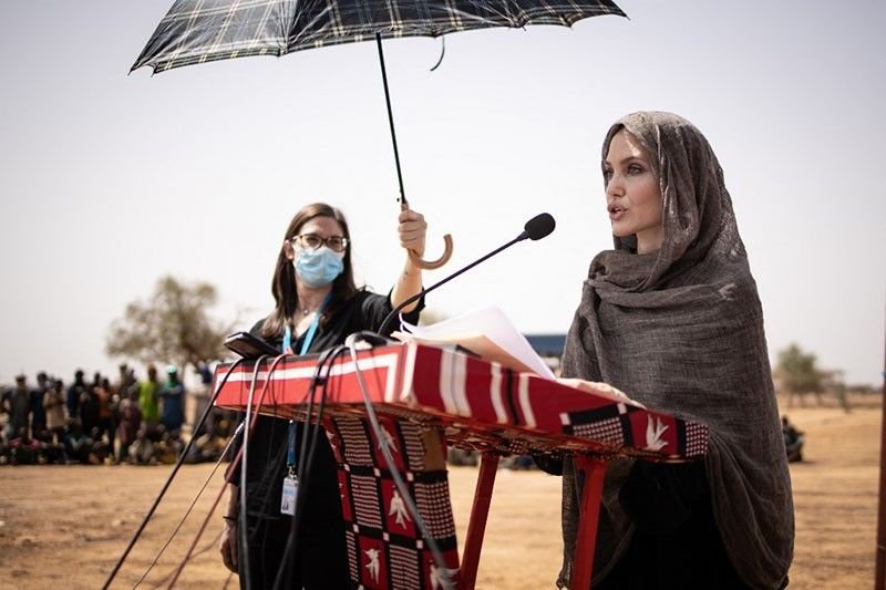 Angelina Jolie shares voices of Afghans as she opens Instagram account