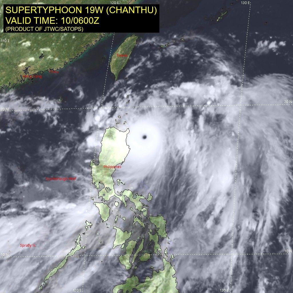 'Kiko' nears super typhoon status, Signal No. 4 up in Babuyan Islands