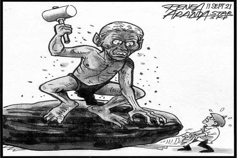 EDITORIAL - Jail term for SALN comments