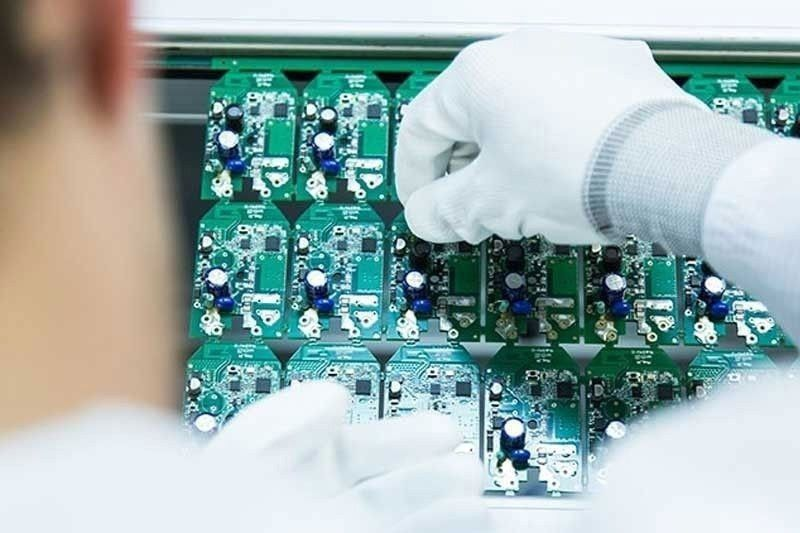 Electronics exports on the rebound