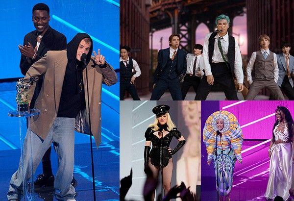 'Happy 40th, MTV': VMAs 2021 winners, highlights