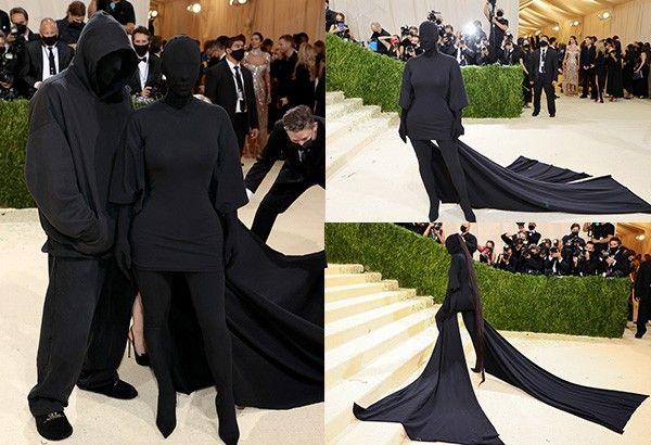 Met Gala 2021: Kim Kardashian wears all-black outfit designed by ex Kanye West