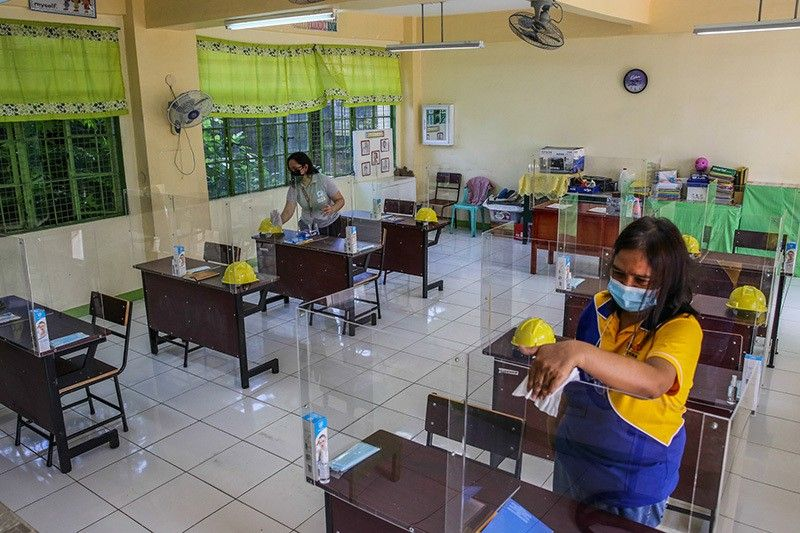 Philippines approves limited return to classroom learning