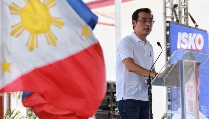 Manila City Mayor Isko Moreno formally launches his campaign for the presidency on September 22, 2021.
