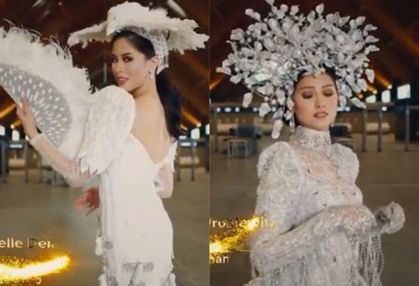Miss Universe Philippines 2021 candidates showcase national costumes