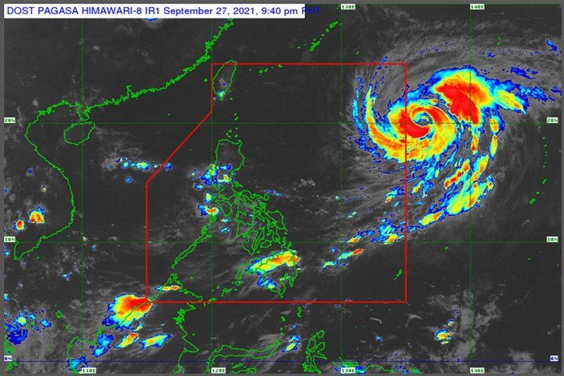 Typhoon enters Philippine area today