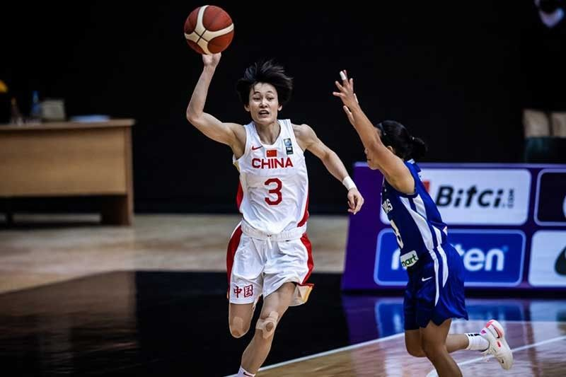 Gilas women blown out by mighty China in FIBA Women's Asia Cup opener