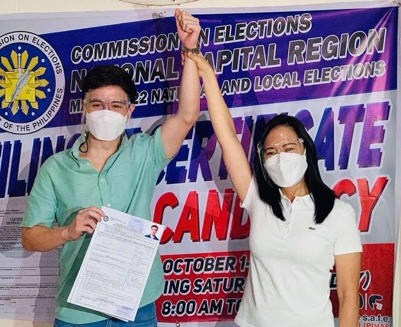 Arjo Atayde files COC for Quezon City congressman