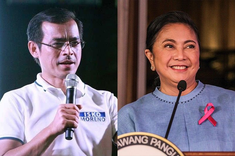 Isko implies Leni only ran because of Marcoses