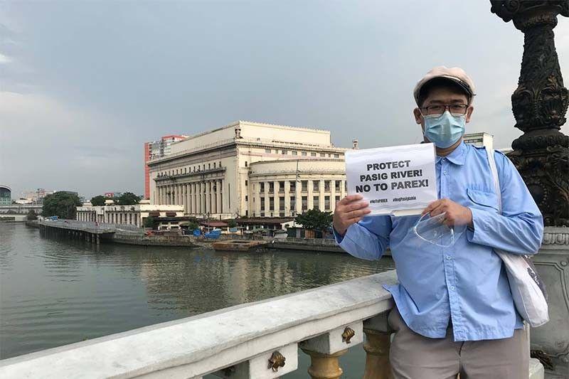 Saving Manila heritage: Pasig River Heritage Appreciation walk launched to oppose PAREX