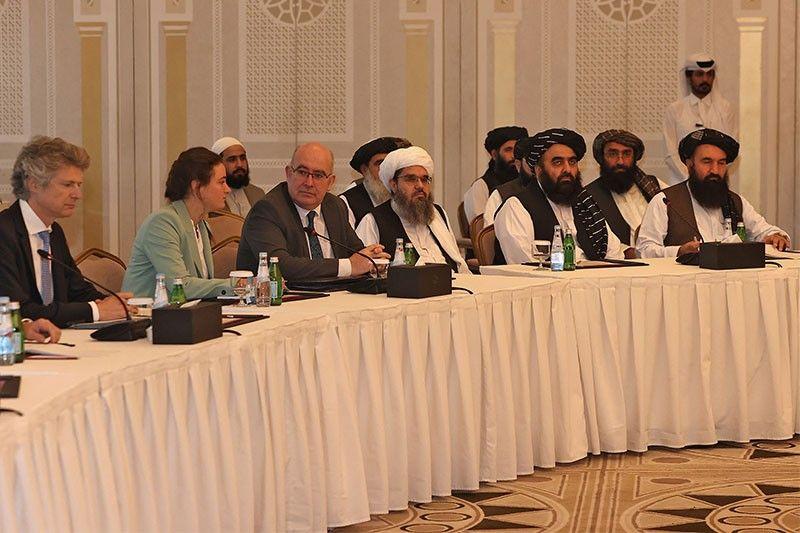 Taliban meet EU-US delegation, Brussels pledges 1 billion euros aid