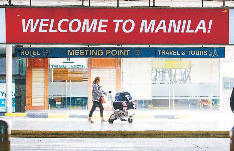 Foreign tourists still not allowed to enter Philippines