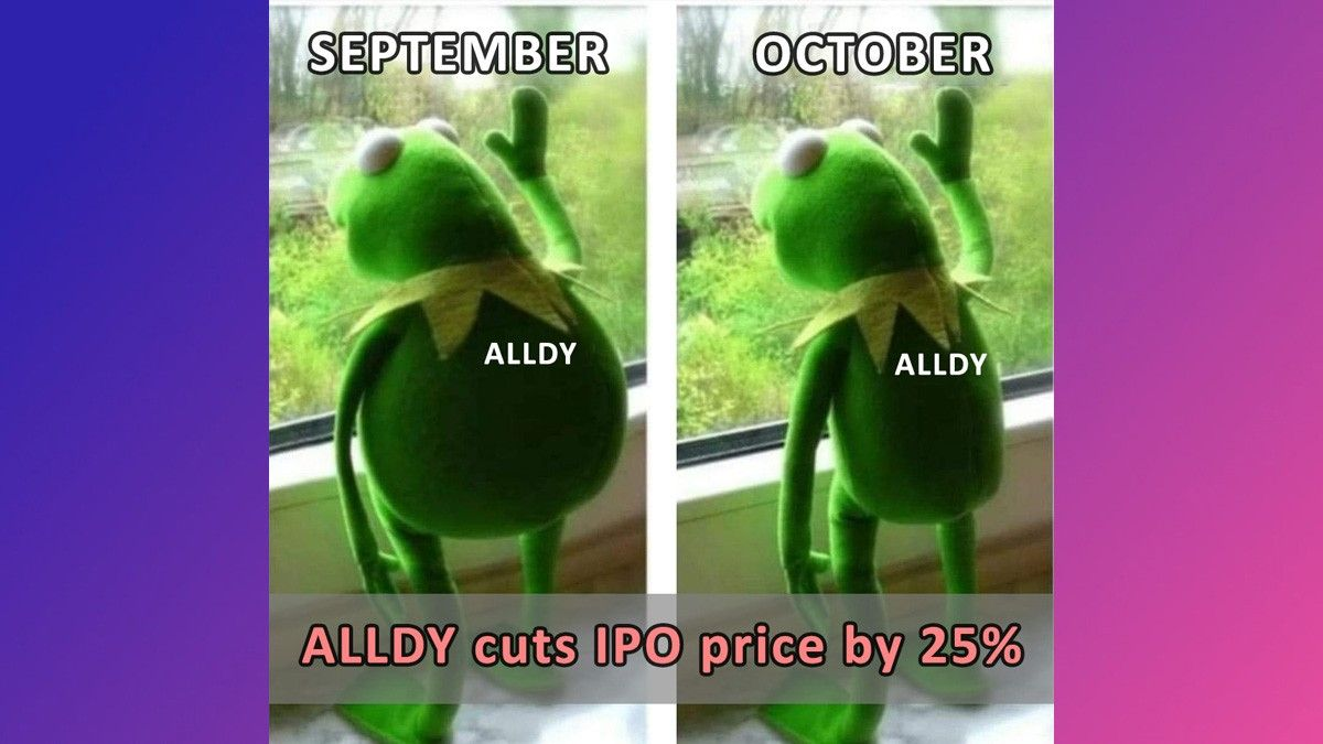 AllDay Marts slashes its offer price by 25%